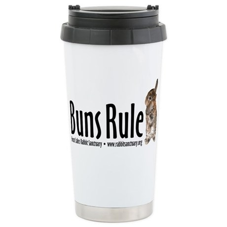 Buns Rule Stainless Steel Travel Mug