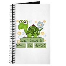 Turtle Slow Down Journal