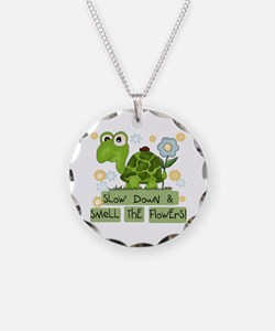 Turtle Slow Down Necklace