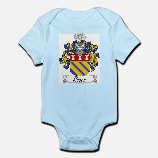 Rocco Coat of Arms Infant Creeper