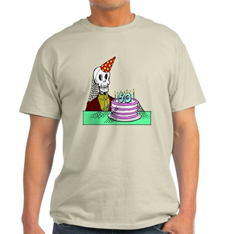 50th Birthday Light T-Shirt