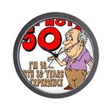 50th birthday Wall Clocks