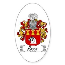 Rocca Coat of Arms Oval Decal
