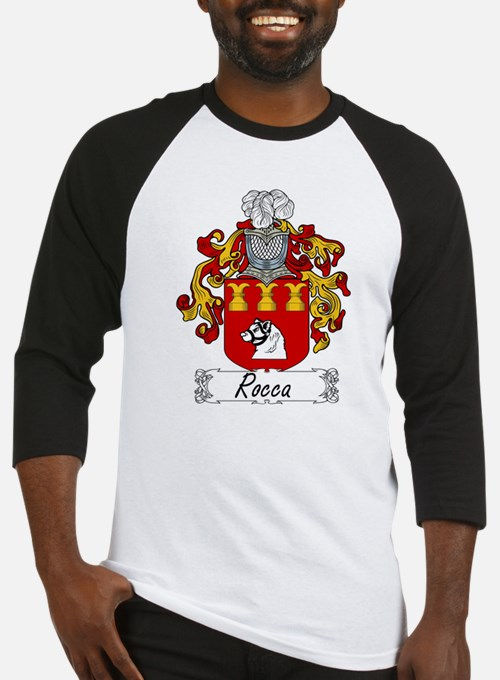 Rocca Coat of Arms Baseball Jersey