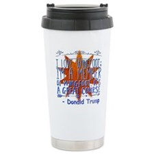 Cute Inauguration 2013 Large Thermos® Bottle