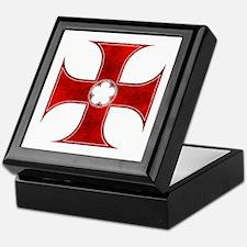 Unique Templar cross Keepsake Box