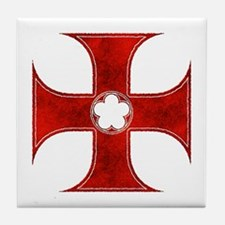 Cute Middle ages Tile Coaster