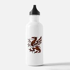 Brown Gryphon Water Bottle
