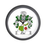 Rizzi Family Crest Wall Clock