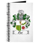 Rizzi Family Crest Journal