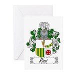 Rizzi Family Crest Greeting Cards (Pk of 10)