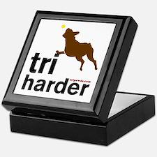 Tri Harder Boxer Keepsake Box