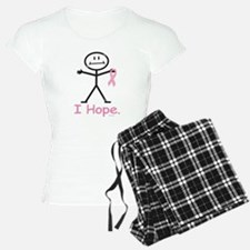 Breast Cancer Pink Ribbon Pajamas