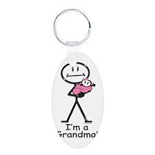 New Grandma Baby Girl Keychains