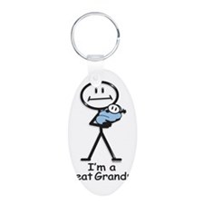 Great Grandpa Baby Boy Keychains