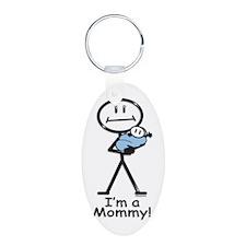New Mom Baby Boy Keychains