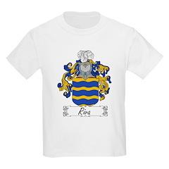 Riso Family Crest Kids T-Shirt