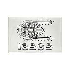 Prefix Code Rectangle Magnet (100 pack)