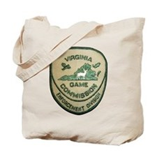 Virginia Game Warden Tote Bag