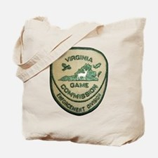 Virginia Game Warden Tote Bag