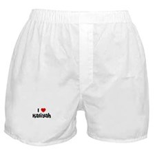 I * Kaliyah Boxer Shorts