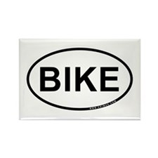 Bike Rectangle Magnet