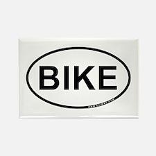Bike Rectangle Magnet