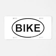 Bike Aluminum License Plate