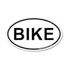 Bike 22x14 Oval Wall Peel