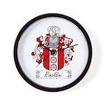Rinaldini Family Crest Wall Clock