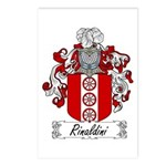 Rinaldini Family Crest Postcards (Package of 8)