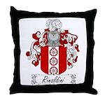Rinaldini Family Crest Throw Pillow
