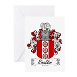 Rinaldini Family Crest Greeting Cards (Package of
