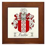Rinaldini Family Crest Framed Tile