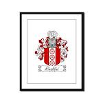 Rinaldini Family Crest Framed Panel Print