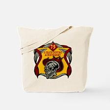 75th Birthday Tote Bag