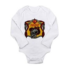 75th Birthday Long Sleeve Infant Bodysuit