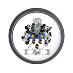 Righi Coat of Arms Wall Clock