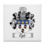 Righi Coat of Arms Tile Coaster