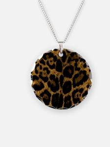 Jaguar Print Necklace
