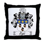 Righi Coat of Arms Throw Pillow