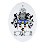 Righi Coat of Arms Oval Ornament