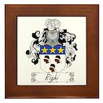 Righi Coat of Arms Framed Tile
