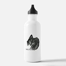 Adoring Sheltie Water Bottle