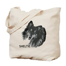 Adoring Sheltie Tote Bag