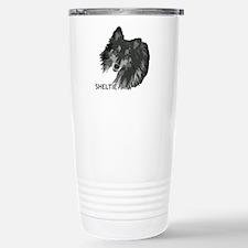 Adoring Sheltie Travel Mug