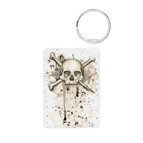 Pirate Aluminum Photo Keychain