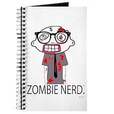Zombie Nerd. with Body. Journal