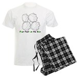 Flyball Box Turn Men's Light Pajamas