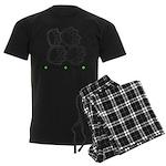 Flyball Box Turn Men's Dark Pajamas